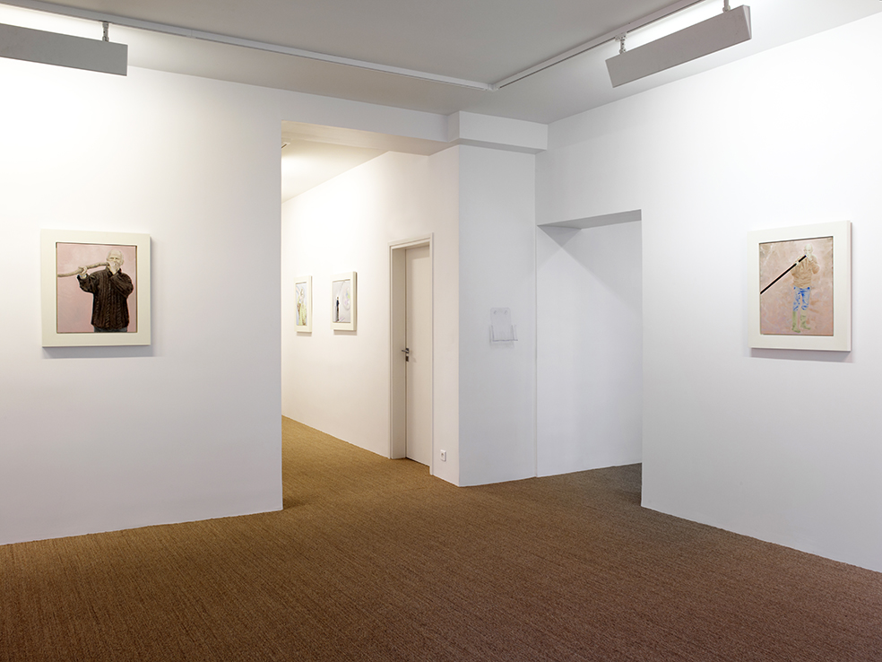 Bruno Perramant - Exhibition views , 2014