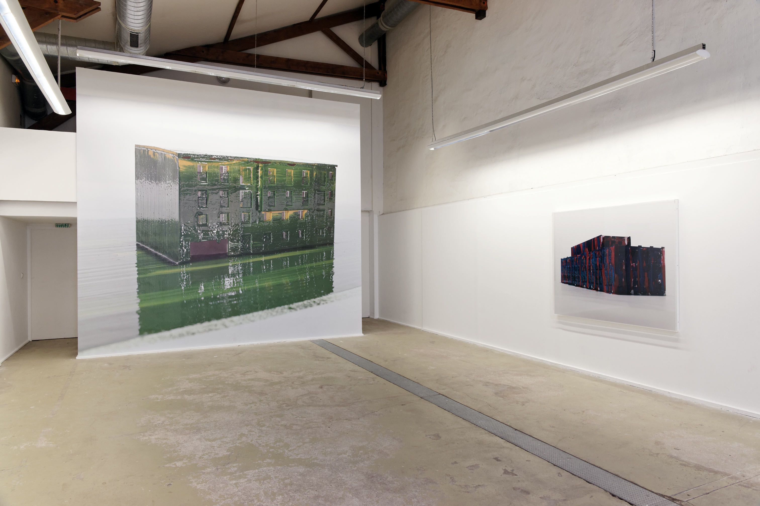 Patrick Tosani - Assemblages - Exhibition view at CPIF - France